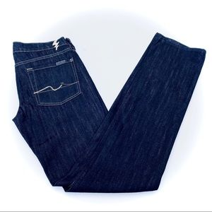 7 for all man kind Straight leg jeans